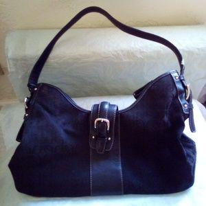 NWOT Fossil Black Shoulder Bag